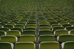 Stadium chairs Royalty Free Stock Photography