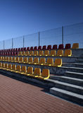 Spectator seating Royalty Free Stock Images
