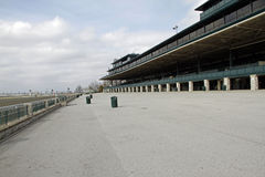 The Spectator Sections of Keeneland Racecourse in Lexington, Kemtucky Stock Images