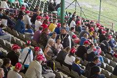 Spectator stand in hungarian recetrack in Hungaroring Stock Photography