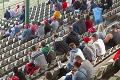 Spectator stand in hungarian recetrack in Hungaroring Royalty Free Stock Images