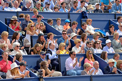 Spectators at the ATP Barcelona Open Banc Sabadell Conde de Godo Royalty Free Stock Photo