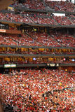 Spectators Busch Stadium Stock Photos