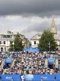 Spectators at Eastbourne 2011 Quarter-finals Stock Photos