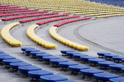 Spectators grandstand seating Royalty Free Stock Photography