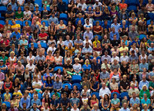 Spectators at Hopman Cup Stock Image