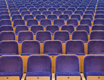 Spectators Seats Stock Image