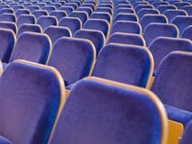 Spectators Seats Stock Photography