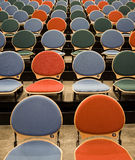 Spectators seats Stock Photo