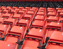 Spectators seats Royalty Free Stock Images