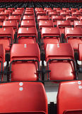 Spectators seats Royalty Free Stock Photography