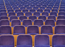Spectators seats Stock Images