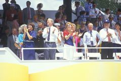 Spectators In Stands Stock Image
