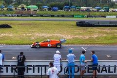 Cars racing on zwartkops stock images
