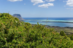 Spectecular View in Southern Mauritius Stock Image