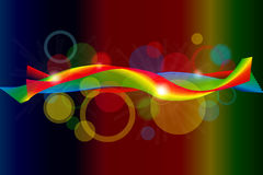 Spectral background Royalty Free Stock Photography