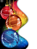 Spectral Christmas  background Stock Photos