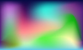 Spectral colorful abstract smooth background. Vector eps 10 Stock Image