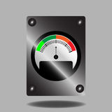 Spectral indicator Royalty Free Stock Image