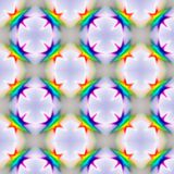 Spectral seamless pattern Stock Image