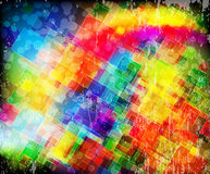 Spectral squares Royalty Free Stock Images