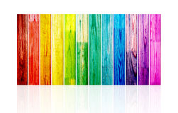 Spectral wood planks. Picture of a spectral wood planks Stock Image