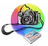 Spectrale kleur Stock Afbeeldingen