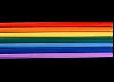 Spectre d'arc-en-ciel Images libres de droits