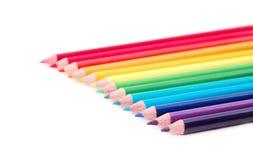 Spectre de couleur d'arc-en-ciel Images stock