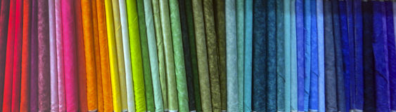 Spectre de couleur de boulon Photographie stock