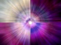 Spectre spirituel coloré Images libres de droits