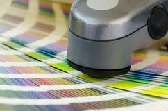 Spectrofotometer, Druk die Hulpmiddel meten Royalty-vrije Stock Afbeelding