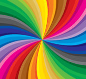 Spectrum. Multi colored, spectrum, moving background. Vector illustration without gradients Royalty Free Stock Images