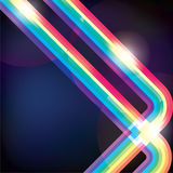 Spectrum. Abstract spectrum stripes for background usage stock illustration