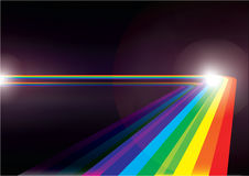 Spectrum. Abstract spectrum stripes for background usage Stock Photo