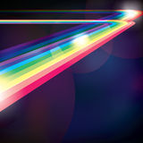 Spectrum. Abstract spectrum stripes for background usage Royalty Free Stock Photography