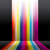Spectrum. Abstract spectrum stripes for background usage Stock Images