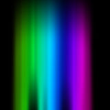 Spectrum. Into the black space Stock Image