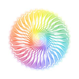 Spectrum. Color Spectrum in white background Royalty Free Stock Photos