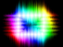 Spectrum abstract background Royalty Free Stock Image