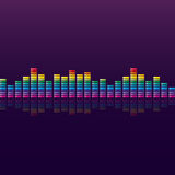 Spectrum analyzer Royalty Free Stock Photography