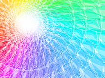 Spectrum background. Abstract color spectrum horizontal background Royalty Free Stock Image