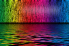 Spectrum background. Abstract background from spectrum lines royalty free illustration