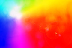 Spectrum. Background motif with rainbow colors Stock Photo
