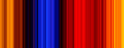 Spectrum Background. Vertical straight lining/spectrum displaying bandwidth and wavelength like pattern for web design/graphics and energy related subjects Royalty Free Stock Photo
