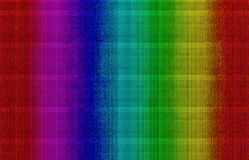 Spectrum beads background. Abstract computer illustration spectral colours with beads mosaic effect stock illustration