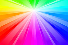 Spectrum Burst Royalty Free Stock Images