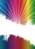 Spectrum Burst Background Royalty Free Stock Images