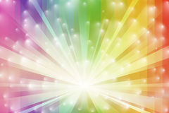 Spectrum Burst Stock Photos