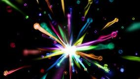 Spectrum Burst stock footage
